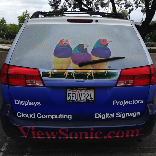 One Way Vision Perforated Window Vinyl Sycolor